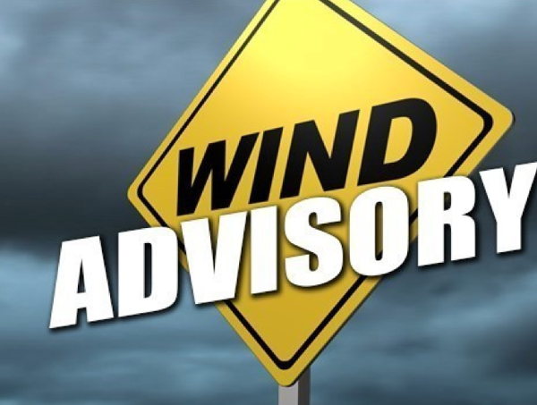Wind Advisory Issued for Tonight and Monday
