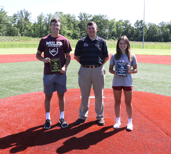 May 2020 Athletes of the Month Named