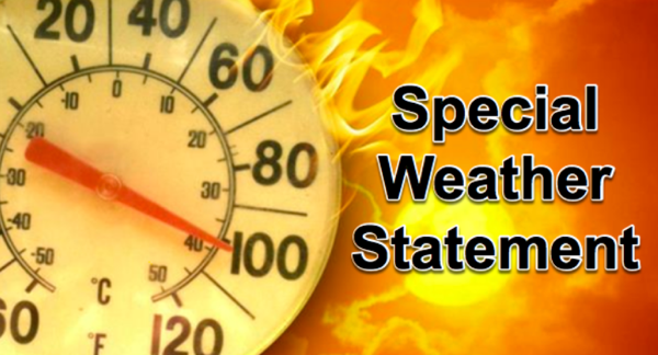 Special Weather Statement Issued for Stoddard County - Heat Indexes Near 100