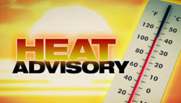 Heat Advisory for Stoddard County Until 7 p.m. for Monday, August 10, 2020
