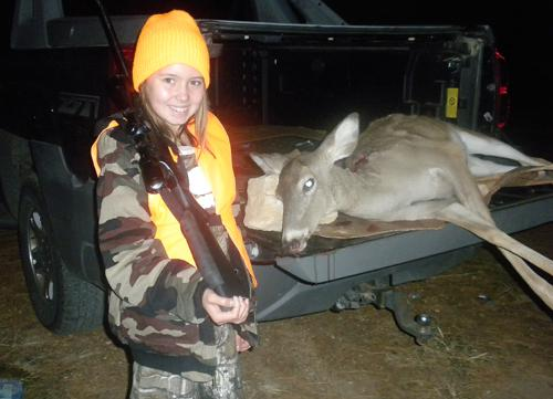 Sitze Gets Her First Deer During Youth Hunt