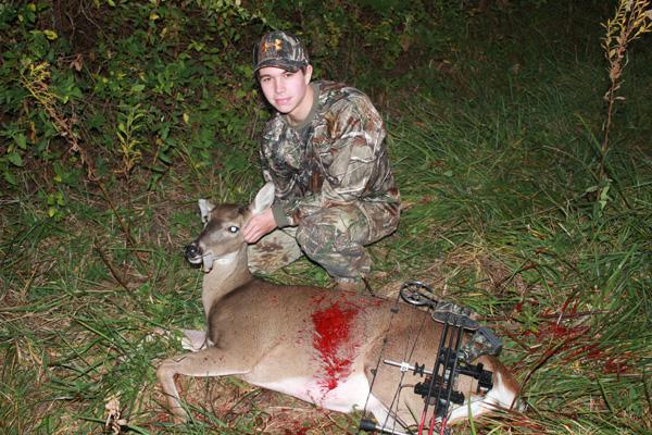 Putnam Kills His First Deer With Bow