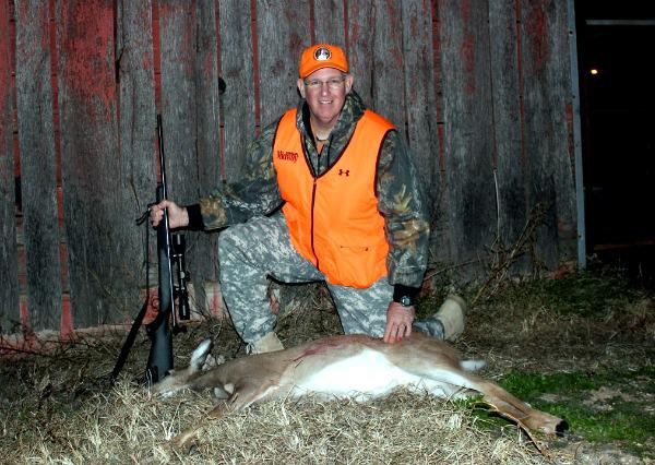 Nixon Harvests Deer In Pulaski County